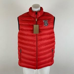 NWT Burberry Puffer Vest